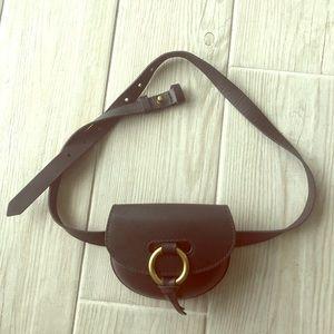 Madewell black belt bag